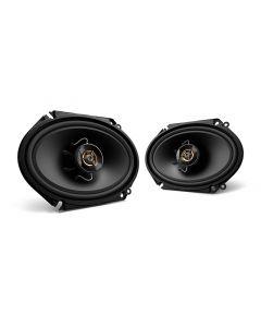 """Kenwood KFC-C6866S 6"""" x 8"""" 2-Way Sport Series Coaxial Speakers"""