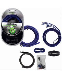 InstallBay AK4ANL 4 Gauge Car Amplifier Wiring Installation Kit - Car amplifier installation kit