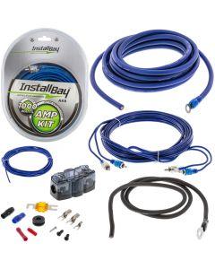 InstallBay AK8 8 Gauge Car Amplifier Wiring Installation Kit - Car amplifier installation kit