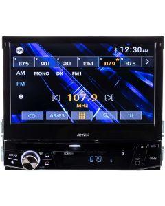 "Jensen CDR7011 7"" Single DIN Flip Up DVD/CD Receiver with Bluetooth - main"