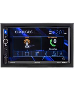 """Jensen CMR2720 7"""" Digital Media Receiver with Bluetooth and Capacitive Touchscreen -"""