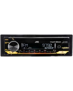 JVC KD-T910BTS Single DIN Bluetooth CD Receiver with USB and SiriusXM Ready - Tuner