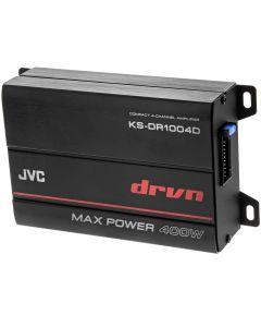 JVC KS-DR1004D Class-D Compact 4 Channel Class-D Marine Power Amplifier - main