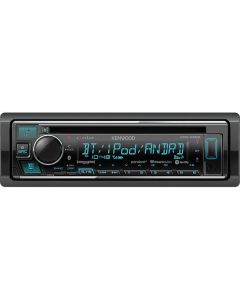 Kenwood eXcelon KDC-X303 Single DIN Car Stereo receiver with Bluetooth