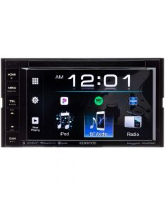 """Kenwood DDX276BT Double DIN In-Dash 6.2"""" LCD Touchscreen DVD Receiver"""