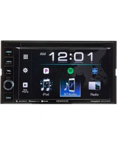 """Kenwood DDX376BT Double DIN 6.2"""" In-Dash DVD/CD/AM/FM Receiver with Bluetooth"""