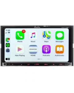 """Kenwood DMX7706S Double DIN 6.95"""" Digital Multimedia Receiver with Bluetooth, Apple CarPlay, Android Auto and Short Chassis"""