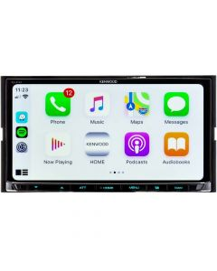 Kenwood eXcelon DMX907S 6.95 Inch Double DIN Digital Media Receiver with HD Radio, WebLink, Dash Cam Link, Apple CarPlay and Wireless Android Auto