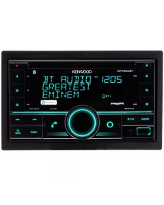Kenwood DPX504BT Double DIN Car Stereo CD Receiver with Bluetooth and Amazon Alexa