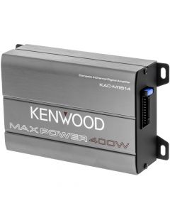 Kenwood KAC-M1814 Class-D Compact 4 Channel Class-D Marine Power Amplifier