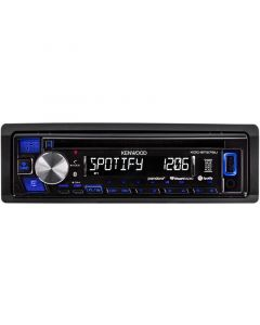Kenwood KDC-BT275U Single DIN CD Car Stereo Receiver with Bluetooth - Spotify