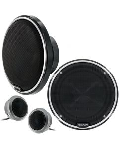 "Kenwood KFC-P710PS 6.5"" Performance Series 2-Way Car Component System Speakers"