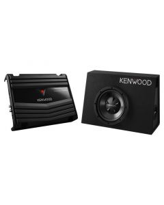 """Kenwood 10"""" Subwoofer system with amplifier"""