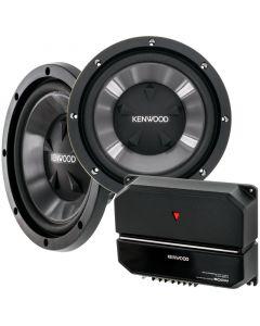 "Kenwood P-W1221 Dual 12"" subwoofer system -"