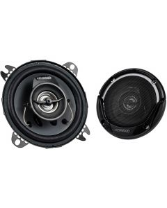 """Kenwood KFC1065S 4"""" Sport Series 2-Way Flush Mount Speakers/Component System for Car-main"""