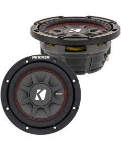 Kicker 43CWRT671 CompRT 300 Watt 6.75 inch Shallow Mount Subwoofer - Main