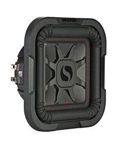 """Kicker 46L7T82 Solo-Baric 8"""" Dual 2 Ohm Square Shallow Mount Subwoofer - Main"""