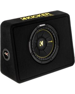Kicker TCompS 44TCWC104 600 Watt 10 inch Subwoofer with Enclosure - Main