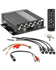 Kmoon K2246 720p 4-Channel Mobile DVR with built-in GPS and G-Sensor