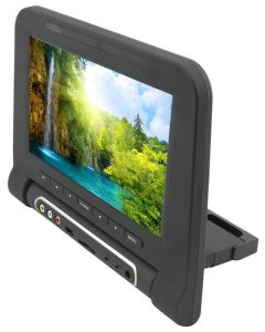 Accelevision LCDHFD9WT 9 Inch Headrest Mount Monitor with SD Card Player - Tan