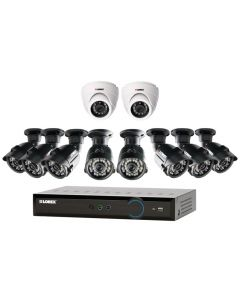 Lorex LH03162TC10PM Eco Blackbox3 16-Ch 2TB HDD DVR with Eight Bullet and Two Dome Cameras-main