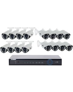 Lorex LH16162TC167B ECO6 Stratus Cloud 960H 2TB 16-Channel DVR and 16 700TVL 960H Cameras-main
