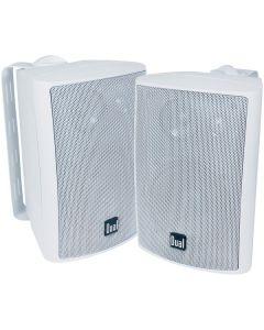 """Dual LU43PW 4"""" 3-Way Indoor/Outdoor Speakers"""