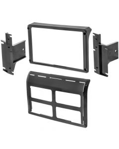 Metra 108-CH1B Double DIN Car Stereo Dash Kit for 2011 - 2018 Jeep Wrangler with Pioneer's DMH-C5500NEX Multimedia Receiver