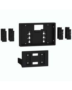 Metra 108-UN02 8 inch Pioneer DMH-C5500NEX Multimedia Receiver Car Stereo Universal Trim Kit