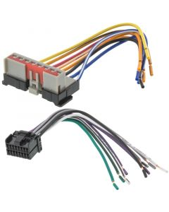 Metra 71-5600 TurboWires Wiring Harness Ford and Lincoln 1995-1998 Vehicles Premium Sound System - Main