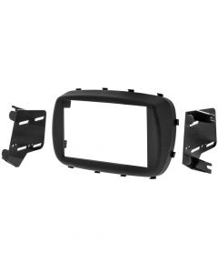 Metra 95-6535B Double DIN Radio Installation kit for 2016 - and Up Fiat 500X