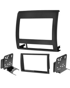 Metra 95-8214TB Textured Black Double DIN Installation Kit