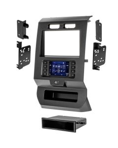 Metra 99-5834CH Single or Double DIN Car Stereo Dash Kit for 2015 - and Up Ford F-150