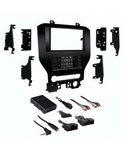 Metra 99-5838CH Double DIN Car Stereo Dash Kit for 2015 - and Up Ford Mustang