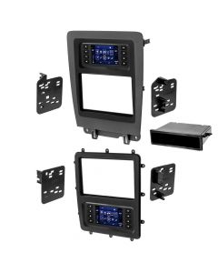Metra 99-5839CH Single or Double DIN Car Stereo Dash Kit for 2010 - 2014 Ford Mustang - Main