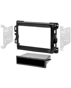 Metra 99-6518B Single or Double DIN Installation Dash Kit for Dodge Ram 2013-Up Vehicles