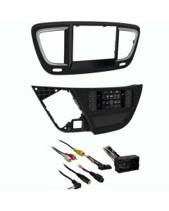 Metra 99-6543HG Single or Double DIN Car Stereo Dash Kit for 2017 - and Up Chrysler Pacifica