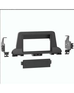 Metra 99-7394B Single or Double DIN Car Stereo Dash Kit for 2019 - 2021 Kia Forte