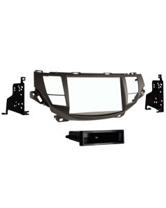 Metra 99-7807T Single or Double DIN Dash Kit for 2008 - 2012 Honda Accord Crosstour with Navigation-main