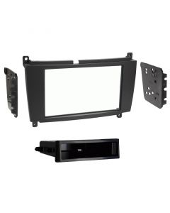 Metra 99-8724B Single or Double DIN Dash Kit for 2005-09 Mercedes-Benz CLK Class vehicles