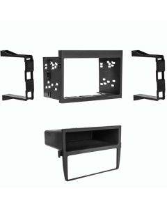 Metra 99-9605B Single or Double DIN Car Stereo Dash Kit for 1999 - 2005 Porsche Boxster