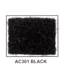 "Metra AC301 40"" Wide x 50 Yard Long Acoustic Carpet - Black"