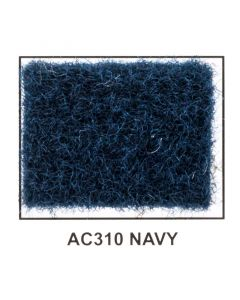 "Metra AC310-5 40"" Wide x 5 Yard Long Acoustic Carpet - Navy Blue"