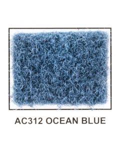 "Metra AC312-5 40"" Wide x 5 Yard Long Acoustic Carpet - Ocean Blue"
