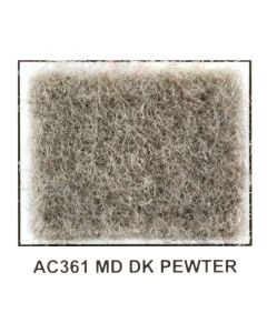 "Metra AC361-5 40"" Wide x 5 Yard Long Acoustic Carpet - Medium Dark Pewter"