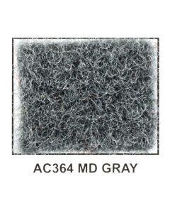 """Metra AC364 40"""" Wide x 50 Yard Long Acoustic Carpet - Medium Gray"""