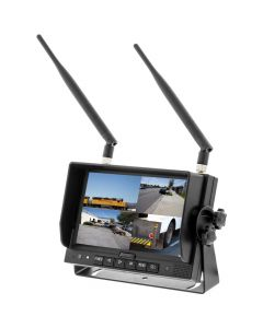 iBeam TE-4WCM Wireless 7 inch LCD Monitor with Quad Screen capability and Built in DVR