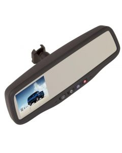 Gentex GENK356BS GM Replacement 3.5 inch Rearview Mirror Monitor with Emergency Assistance retention