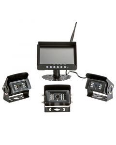 Safesight SC9004DQ Digital Wireless Quad screen back up camera system - Main
