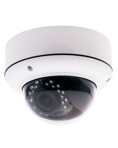 Safesight TOP-SS-WDB20T200 1080p HD-IP Dome Security camera - Front right view of camera